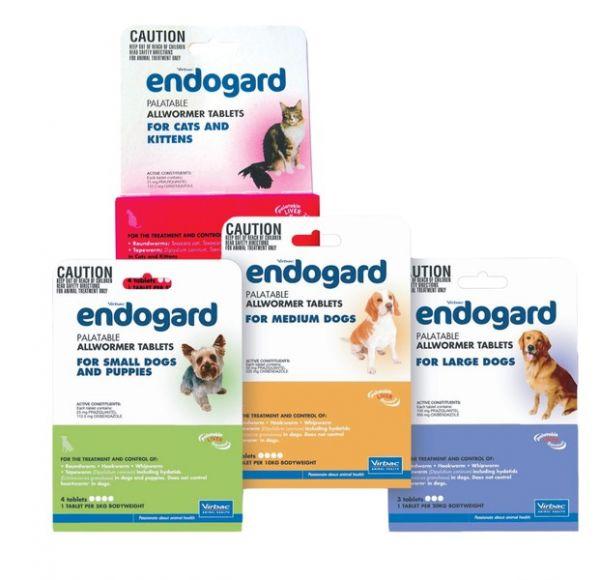 Endogard for dogs 5-10kg single tablet