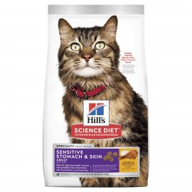 Hills Cat Sensitive Stomach and Skin 1.58kg