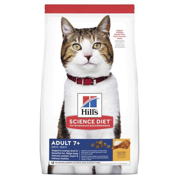 Hills Cat Adult 7+ 3kg