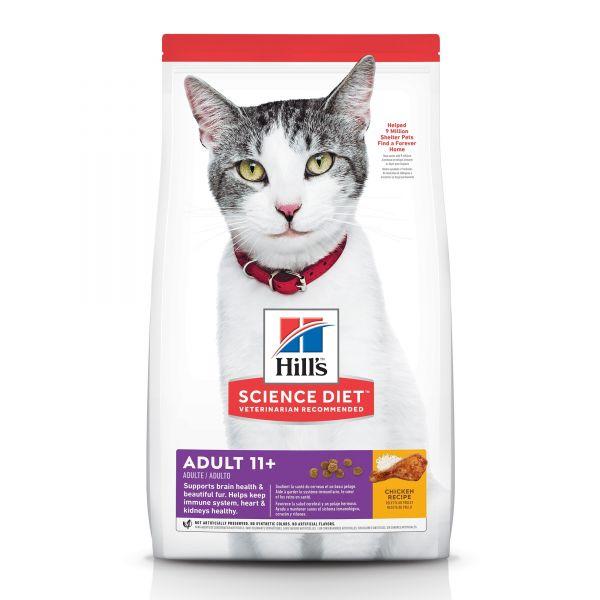 Hills Cat Adult 11+ 1.59kg