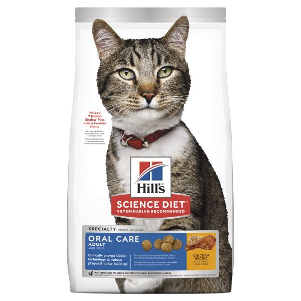Hills Cat Oral Care 4kg