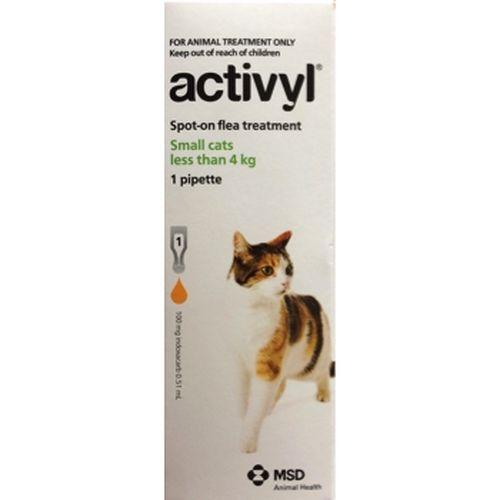 Activyl Cat Small 0.6-4kg single