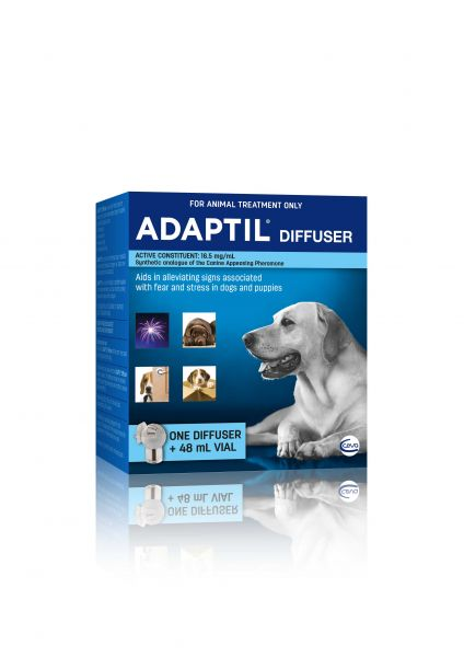 Adaptil Dog Appeasing Pheromone (DAP) Diffuser (with 48ml refill)