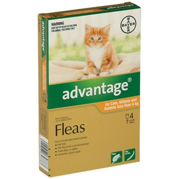 Advantage Kittens/Small Cats