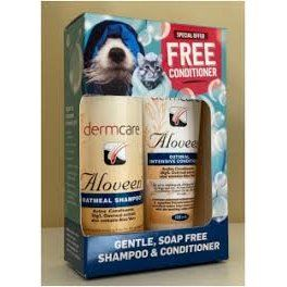 Aloveen Shampoo 250ml  PLUS FREE 100ml Aloveen Conditioner