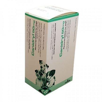 Canidryl 50mg x 100 tablets (carprofen)
