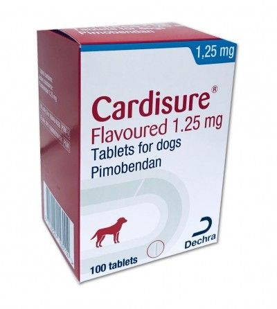 Cardisure 1.25mg Pack of 100    Prescription Required
