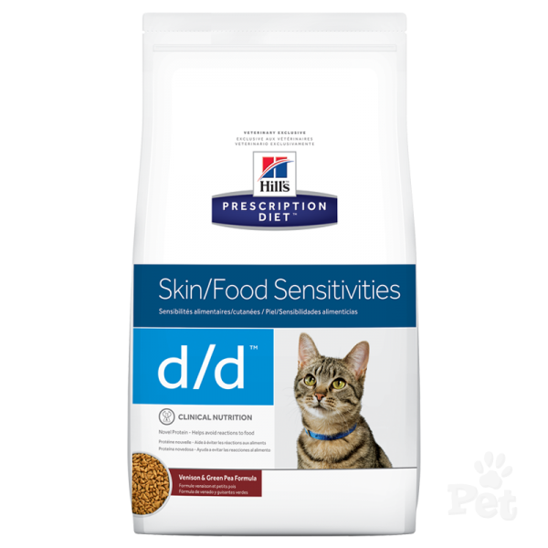 Hills Prescription Diet Cat d/d Skin/Food Sensitivites 1.58kg