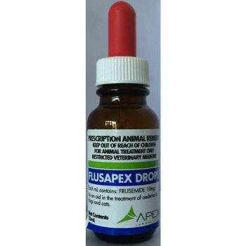 Flusapex drops 10mg/ml  25ml bottle          Prescription required