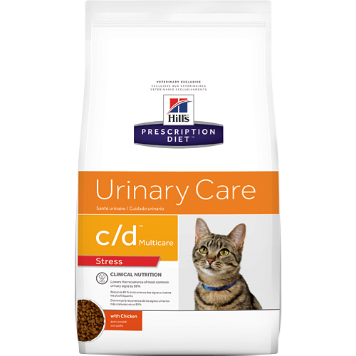 Hills Prescription Diet Cat c/d Urinary Care stress dry 1.8kg