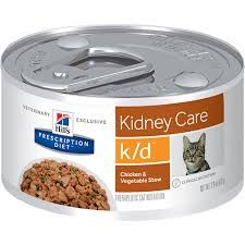 Hills Prescription Diet Cat k/d Kidney Care chicken & vegetable stew can 82g  x 24