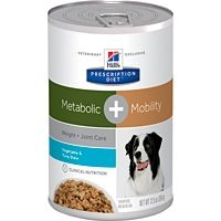 Hills Prescription Diet Dog Metabolic + Mobility Tuna & Veg Stew Tin (354g X 12)