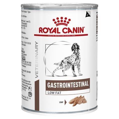 Royal Canin Gastro Intestinal Low Fat Dog Can 410g x 12