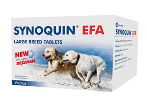 Synoquin EFA Tasty Tablets Large dog 120 tablets