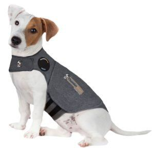 Thundershirt Grey Dog Calming Polo Grey: Small