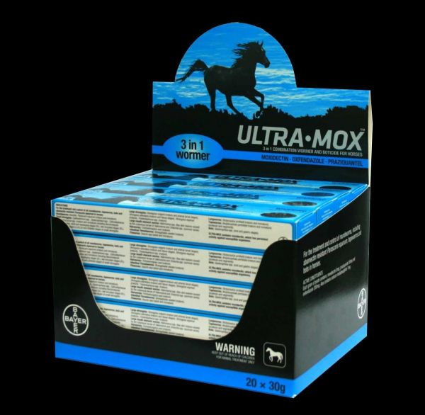 Ultramox single horse wormer
